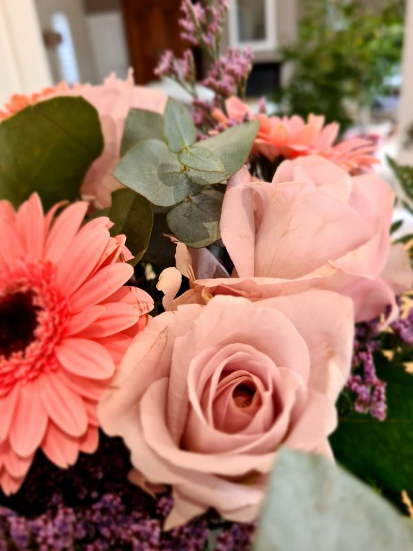 Rose rose eucalyptus