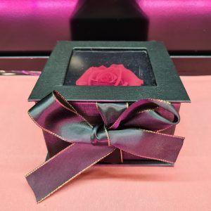 Rose éternelle En Boite Fenêtre Cadeau