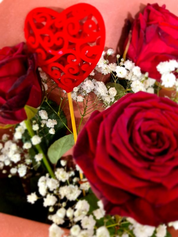 roses rouges st valentin
